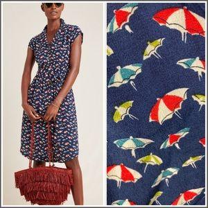 NWOT Anthropologie Maeve Catherine Umbrella Dress